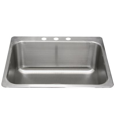 Advance Tabco LS-2418-14RE 1 Bowl Stainless Steel Drop-In...
