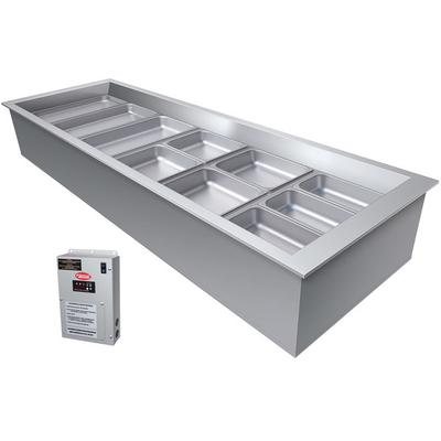 Hatco CWBX-6 Six Pan Slanted Refrigerated Drop-In Cold Fo...