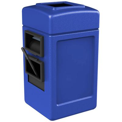 Commercial Zone 755104 28 Gallon Islander Series Blue Har...