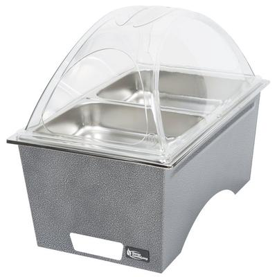 Sterno Products Silver Vein Stackable Chafer with Clear D...
