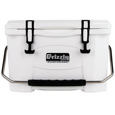 IRP 20 Qt. White Extreme Outdoor Grizzly Merchandiser / C...