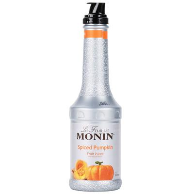 MONIN 1 Liter Spiced Pumpkin Fruit Puree