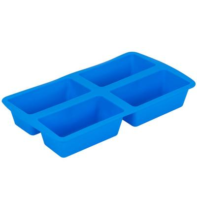 Wilton 2105-4826 Easy-Flex Silicone 4-Compartment Mini Lo...