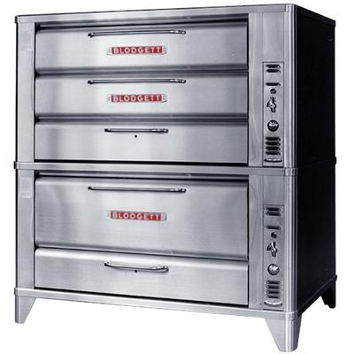 Blodgett 981/951 Natural Gas Double Deck Oven with Vent K...