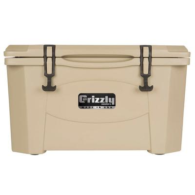 IRP 40 Qt. Tan Extreme Outdoor Grizzly Merchandiser / Cooler