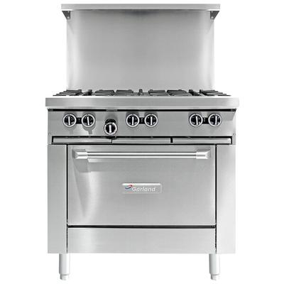 "Garland G36-G36R Natural Gas 36"" Range with 36"" Griddle a..."
