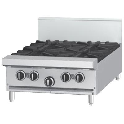"Garland G24-4T Liquid Propane 4 Burner Modular Top 24"" Ra..."