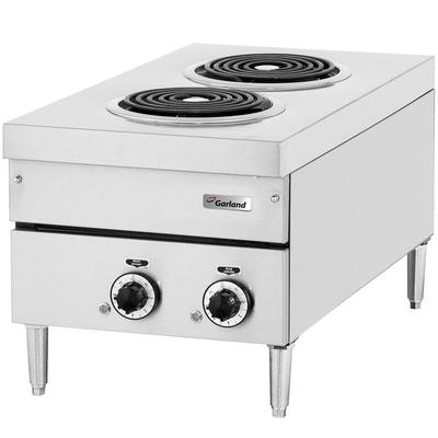 "Garland E24-12H 24"" Two Burner Heavy-Duty Electric Counte..."
