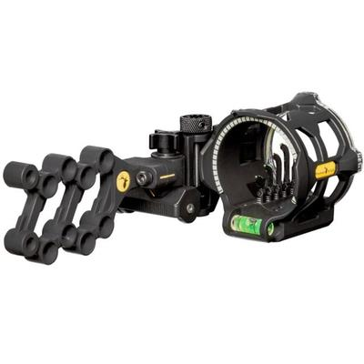 Tropy Ridge Archery Equipment Peak Sight Black 5 pin .019...