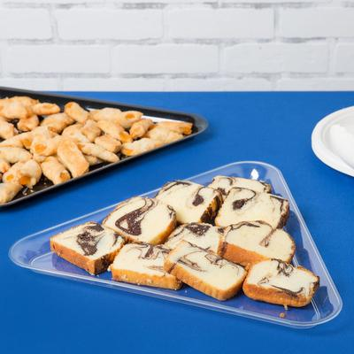 "Fineline Settings 3561-CL Platter Pleasers 16"" Clear Plas..."