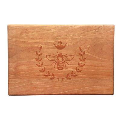 Susquehanna Glass Wood Vintage Bee Artisan Cutting Board ...