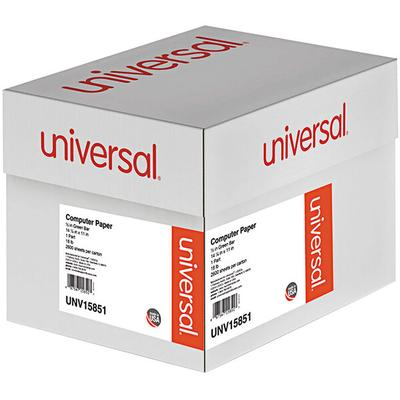 "Universal UNV15851 11"" x 14 7/8"" Green Bar Carton of 18# ..."