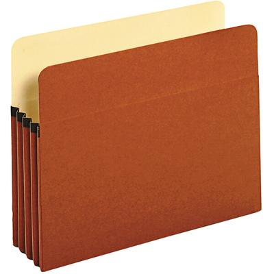 "Universal UNV15343 3 1/2"" Redrope Expanding File Pocket w..."