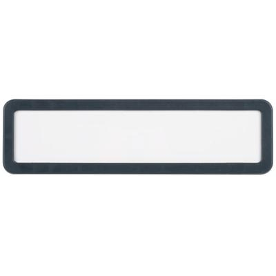 "Universal UNV08223 9"" x 2 1/2"" White Plastic Cubicle Name..."