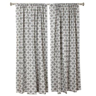 The Pillow Collection Trellis Curtain Valance V16--PP-GOT...