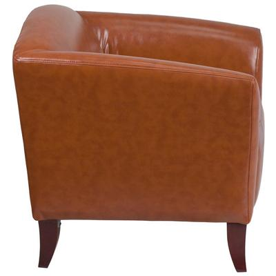 FLASH Furniture 111-1-CG-GG Hercules Imperial Cognac Leat...