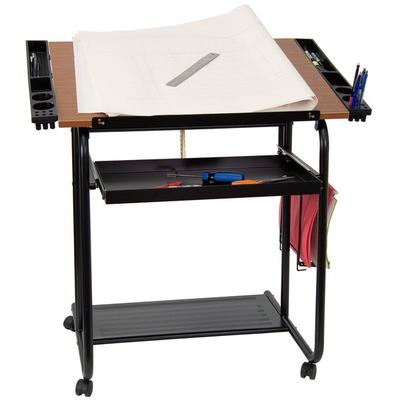 "Flash Furniture NAN-JN-2739-GG 30"" x 24"" Adjustable Drawi..."