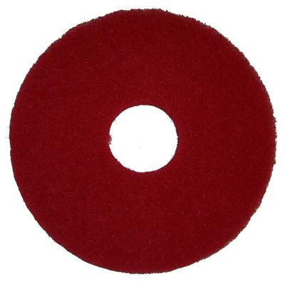 Bissell 437.055 12 Polish Pad for BGEM9000, Red