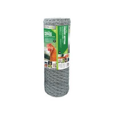 Lucent Poultry Netting, 1 In. Wire Mesh, 150 Ft. X 24 In....
