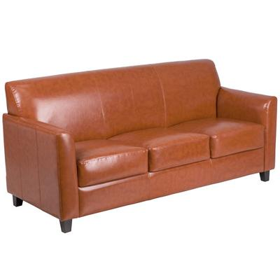 FLASH Furniture BT-827-3-CG-GG Hercules Diplomat Cognac L...