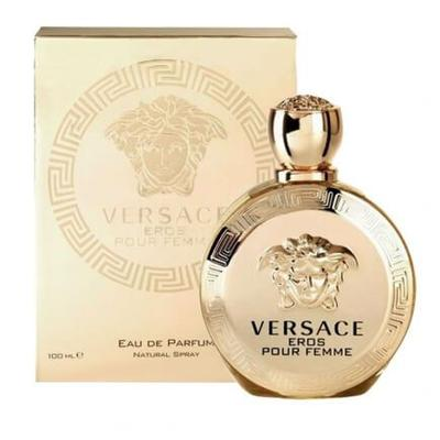 Versace Eros Eau De Parfum Spray for Women, 3.4 Ounce