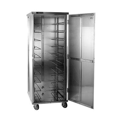 Cres Cor 103-UA-13D Aluminum 13 Pan End Load Enclosed Non-Insulated Bun / Sheet Pan Rack - Assembled