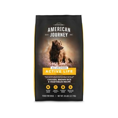 American Journey Chicken & Brown Rice Recipe Dry Dog Food...