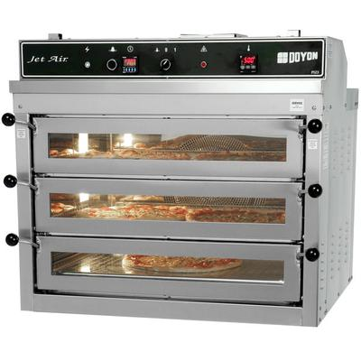 Doyon PIZ3G Natural Gas Triple Deck Pizza Oven - 120V, 70...