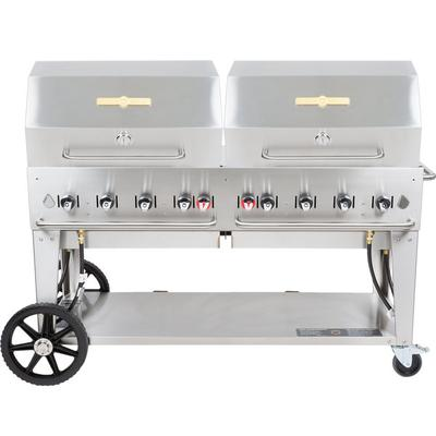 """Crown Verity MCB-60RDP Natural Gas 60"""" Mobile Outdoor Gri..."""
