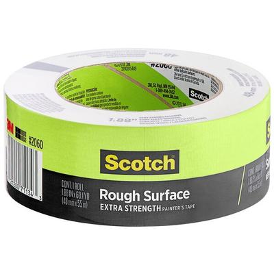 "3M 2060-48A Scotch 1 7/8"" x 60 Yards Green Masking Tape"