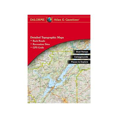 Delorme Atlas and Gazetteer New Hampshire and Vermont