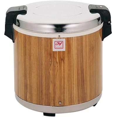 Thunder Group SEJ21000 50 Cup Rice Warmer with Wood Grain...