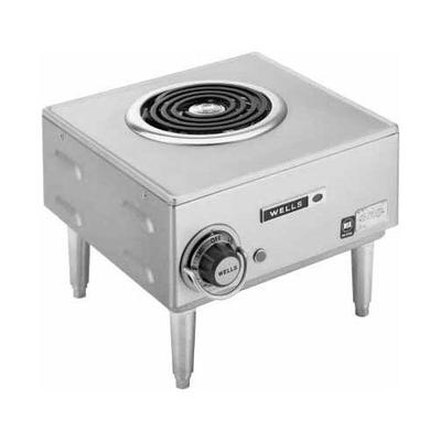 Wells H-33 Countertop Single Burner Electric Hot Plate - ...