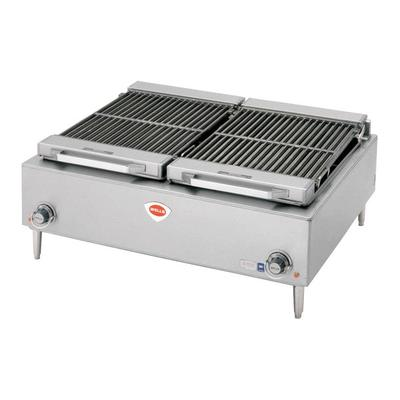 "Wells B-50 36"" Stainless Steel Electric Charbroiler - 208..."