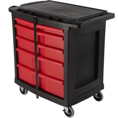 "Rubbermaid FG773488BLA 32 9/16"" x 19 15/16"" Mobile Work C..."