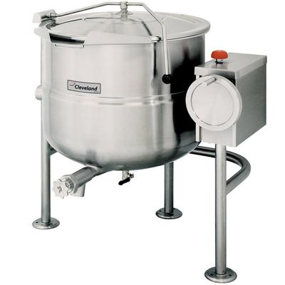 Cleveland KDL-40-T 40 Gallon Tilting 2/3 Steam Jacketed D...