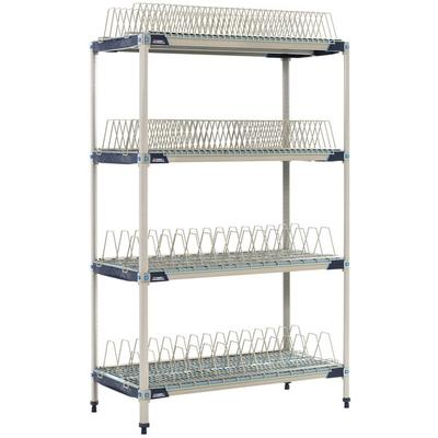 "Metro PR48X4 MetroMax i Stationary Drying Rack - 24"" x 48..."