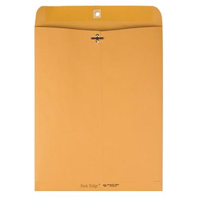 "Quality Park 43097 #97 10"" x 13"" Brown Kraft Clasp / Gumm..."