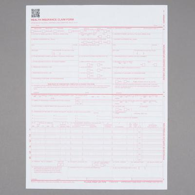 Tops CMS-1500 Laser Printer Forms - 500/PK