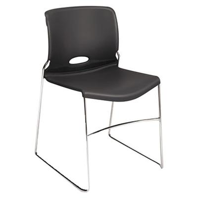 HON 4041LA Olson Stacker Lava Chair with Sled Base - 4/Case