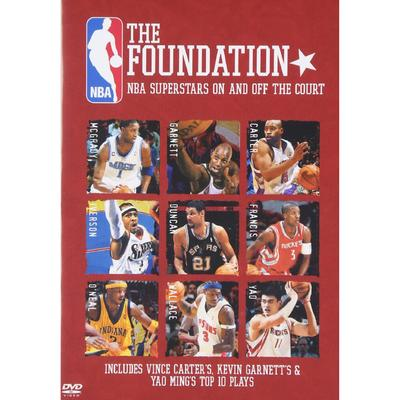 """TMR """"NBA The Foundation: Superstars On And Off Court DVD"""""""