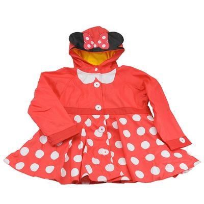 Western Chief Girls' Minnie Mouse Rain Coat (Size 2T) Red...
