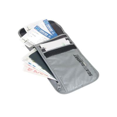Sea to Summit Travel Ling Light Neck Wallet RFID-Grey 456...