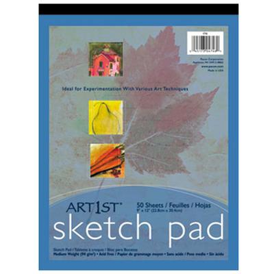 "Pacon 4746 Art1st 9"" x 12"" 60# Heavy Weight Drawing Paper..."