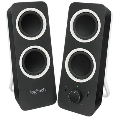 Logitech Z200 Multimedia 2.0 Stereo Speakers, Black -LOG980000800