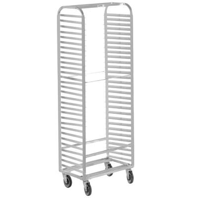 Channel 410S 30 Pan Side Load Stainless Steel Bun / Sheet Pan Rack - Assembled