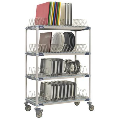 "Metro PR48VX4 MetroMax i Mobile Drying Rack - 24"" x 48"" x..."