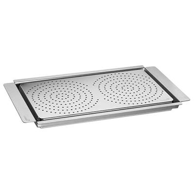 "Rosseto SM217 Multi-Chef 23"" x 13 1/4"" x 1 1/2"" Stainless..."