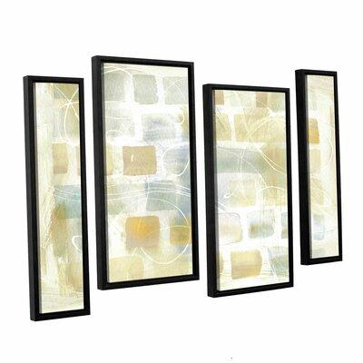 Brayden Studio Caracalla Neutral I 4 Piece Set Framed Gra...