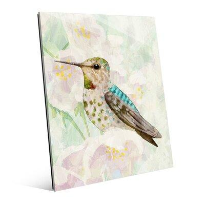 Click Wall Art 'Hummingbird in Cherry Blossoms' Graphic A...